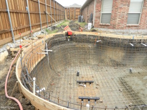 New Swimming Pool Construction – Frisco